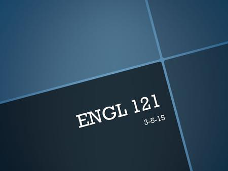 ENGL 121 3-5-15. Today's Agenda  Fast Write  Bias  Surveys  Homework.