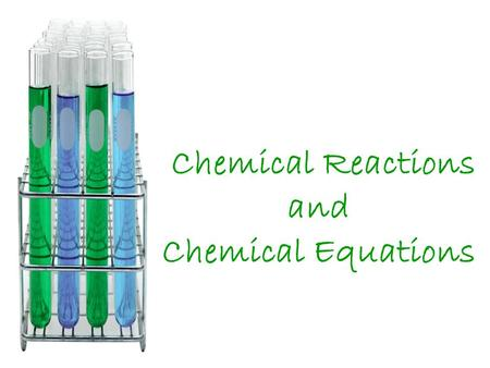 Chemical Reactions and Chemical Equations. Quick Review Physical Change A physical change in a substance doesn't change what the substance is. Example: