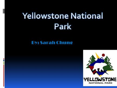 By: Sarah Chung. Map of Yellowstone How Yellowstone Was Formed Most people say that Yellowstone was formed by a volcanic hotspot in Earth's crust. Although,