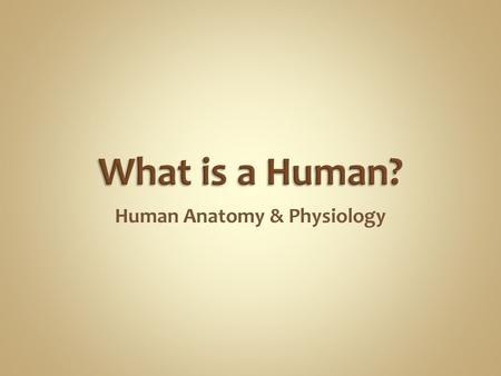 Human Anatomy & Physiology. Man is the most magnificent part of God's creation - far more complex in structure and design than the earth or any heavenly.