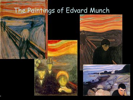 The Paintings of Edvard Munch. The Scream 1893 Is the lurid red sky a symbol, a depiction of an actual sky or both?