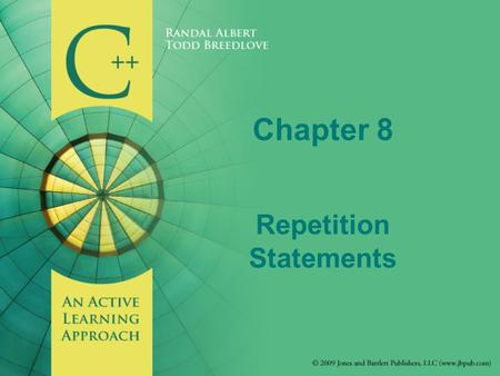Chapter 8 Repetition Statements. Introduction Iteration - process of looping or the repetition of one or more statements Loop body - the statement, or.
