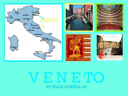 + V E N E TO. + FACTS + CUISINE Italians love their cuisine. Venetian cuisine has a centuries-long history, and it is significantly different from the.