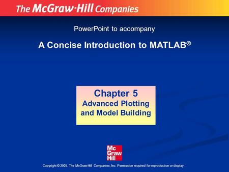 a concise introduction to matlab pdf