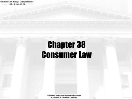 Chapter 38 Consumer Law. 2  When will advertising be deemed deceptive?  How does the federal Food, Drug and Cosmetic Act protect consumers?  When will.