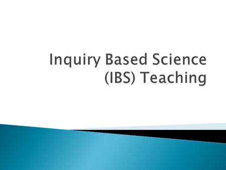  Inquiry involves students exploring/answering research questions through data analysis.