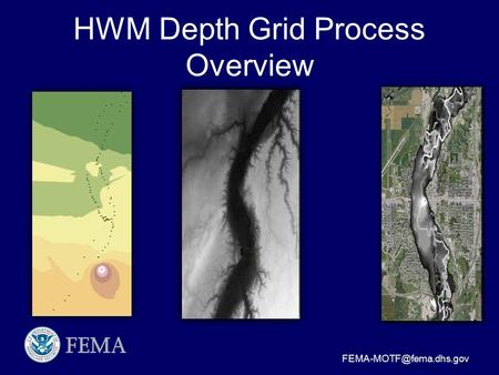 HWM Depth Grid Process Overview.
