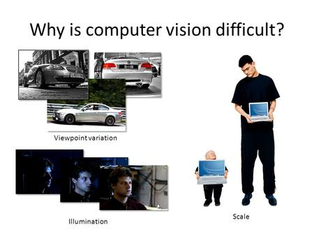 Why is computer vision difficult?