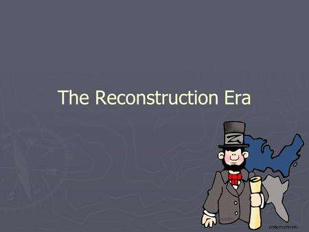 The Reconstruction Era. The Nation Moves Toward Reunion ► ► Union politicians… ► ► Debated on Reconstruction ► ► Lincoln… ► ► Goal was to reunify the.