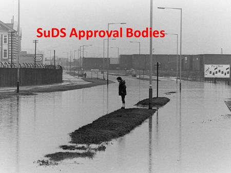 SuDS Approval Bodies. Floods and Water Management Act 2010 The Flood and Water Management Act 2010 received royal assent in April 2010, and it implements.