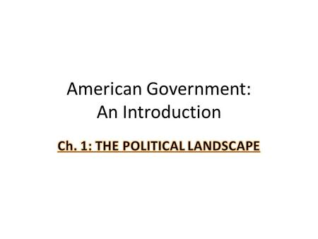 American Government: An Introduction. Compose a list of at least 5 items for the following question: – What should should be the function of government?