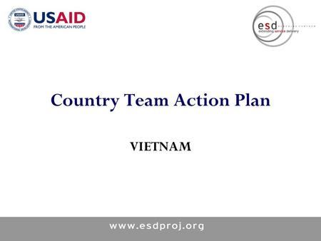 Country Team Action Plan VIETNAM. Tracks 1 & 2 2 What is the selected best practice? STRENGTHEN LINKING SRH, HIV AND STIS SERVICES IN VIET NAM: SCALING.