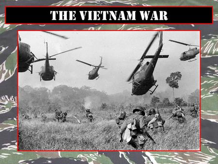 The Vietnam War. 1.Which country did the Vietnam fight from 1946 to 1954? Why? 2.In what year did Vietnam divide itself in half? Why? 3.What was the.