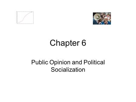 Chapter 6 Public Opinion and Political Socialization.