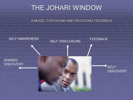 THE JOHARI WINDOW A MODEL FOR GIVING AND RECEIVING FEEDBACK