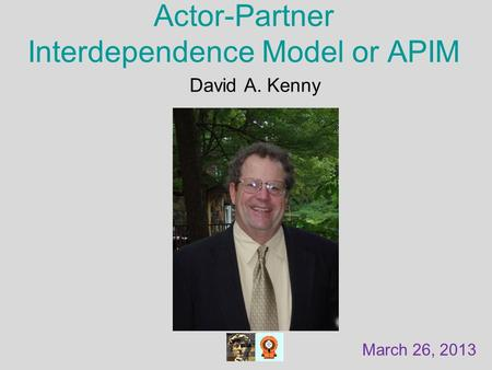Actor-Partner Interdependence Model or APIM