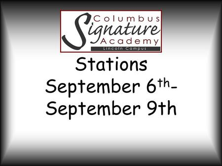 Stations September 6 th - September 9th. Project Overview Students will design, create, and price a product to be sold at the Farmer's Market on September.