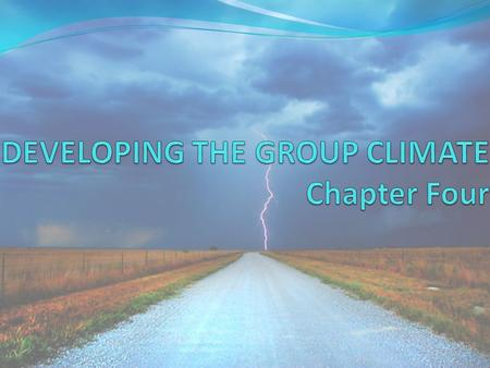GROUP CLIMATE What is Group Climate? A group climate is the emotional atmosphere, the enveloping tone that is created by the way we communicate in groups.