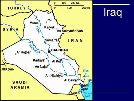 Iraq. Fast Facts about Iraq  75% Arabs-15% Kurds and 10% other  97% Muslim  Literacy Rate 78.5%  Infant Mortality Rate 38.86 per 1,000  9% arable.