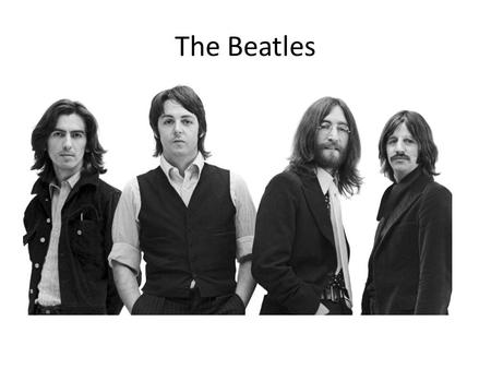 The Beatles. Formed in Liverpool in 1960, the band consisted of Paul McCartney, John Lennon, George Harrison and Ringo Starr. They had 18 number ones.