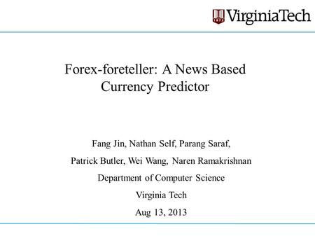 Forex trading based on news