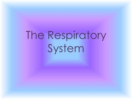 The Respiratory System. Copyright © 2010 Pearson Education, Inc. Nasal cavity Nostril Oral cavity Pharynx Larynx Trachea Left main (primary) bronchus.