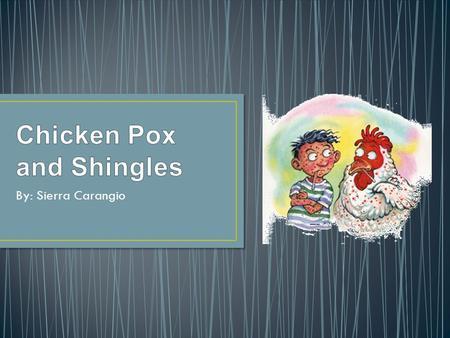 Epidemiological Triangle Chicken Pox