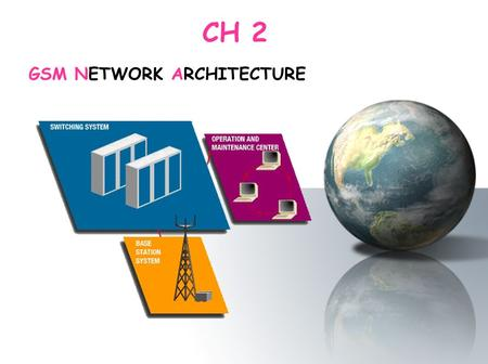 GSM NETWORK ARCHITECTURE CH 2. In this chapter we will see : In this chapter we will see : 1.GSM NETWORK ARCHITECTURE 2.The Radio Subsystem 3.The Network.
