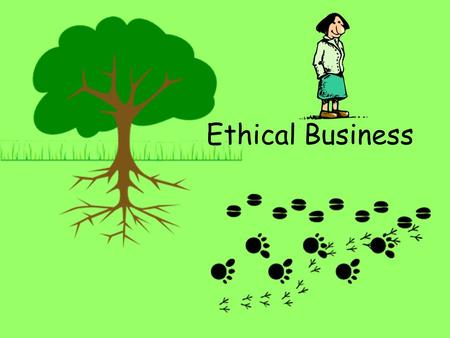 Ethical Business. Objectives Understand what is meant by ethical business Be aware of issues surrounding ethical business practices.