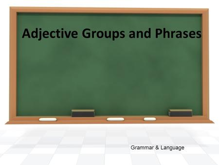 Adjective Groups and Phrases Grammar & Language. 1. I don't know much about this topic. 2. I know a little about this topic. 3. I know a bit about this.