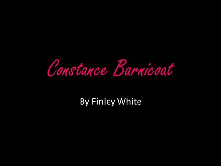 "Constance Barnicoat By Finley White. ""We must go beyond textbooks, go out into the bypaths and untrodden depths of the wilderness and travel and explore."