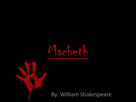 "the theme of guilt in macbeth by william shakespeare This essay has been submitted by a student in order to get a discount for our services in shakespeare""s macbeth the symbol of blood is used to represent honor, bravery, treason, murder and guilt the symbol of blood is continuously developed until it becomes the."