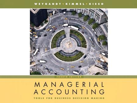 Chapter 2-1. Chapter 2-2 CHAPTER 2 JOB ORDER COSTING JOB ORDER COSTING Managerial Accounting, Fourth Edition Prepared by Dan R. Ward Suzanne P. Ward University.