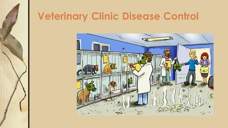 Veterinary Clinic Disease Control. Next Generation Science / Common Core Standards Addressed! CCSS.ELA-Literacy.RST.11-12.1Cite specific textual evidence.