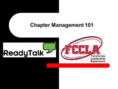 Chapter Management 101. What is Chapter Management? Taking care of the day-to-day business of being a chapter Includes – Finances – Membership – Student.