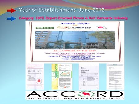 Factory Office Picture Reception Gate Reception Front Gate Sewing Line Sample.