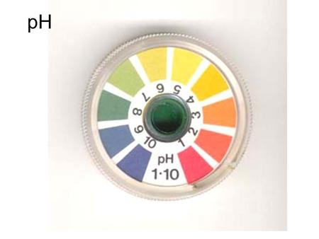 PH. Aim: How is the pH of a solution determined? Objectives: 1.Students should be able to identify if a substance is an acid, a base or neutral when provided.