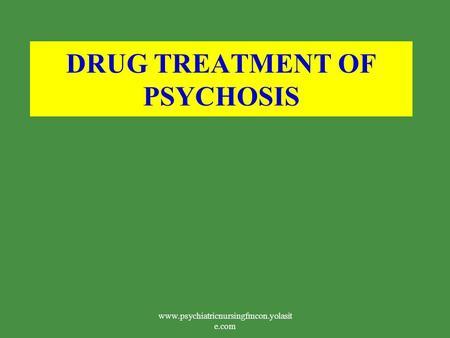 Thioridazine Drug Bank