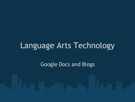 Language Arts Technology Google Docs and Blogs. Iowa Core Curriculum... READING K-2 Read from online resources, audio books 3-5 Read from online resources,