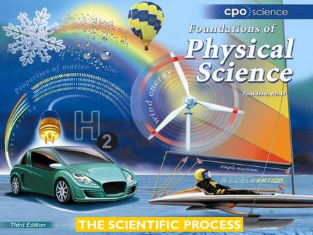 THE SCIENTIFIC PROCESS. Chapter Three: The Scientific Process  3.1 Inquiry and the Scientific Method  3.2 Experiments and Variables  3.3 The Nature.