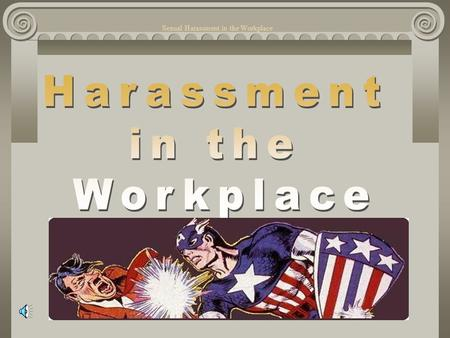 Sexual Harassment in the Workplace What is a Comfort Zones What to Say? click.