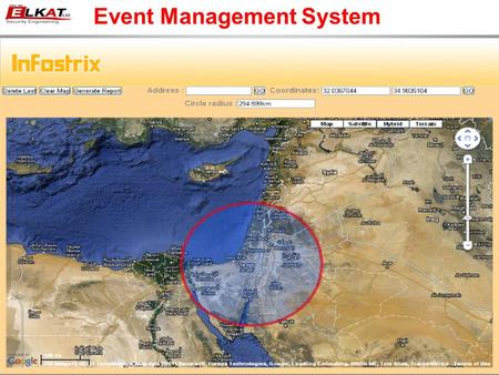 Event Management System. The system provides a solution during routine, emergency situations and unusual events It can provide the latest information.
