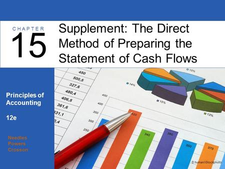 Needles Powers Crosson Principles of Accounting 12e Supplement: The Direct Method of Preparing the Statement of Cash Flows 15 C H A P T E R © human/iStockphoto.