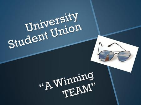 "University Student Union ""A Winning TEAM"". Blue Print Blue Print A graphic designer in the Design and Printing Center will professionally and effectively."