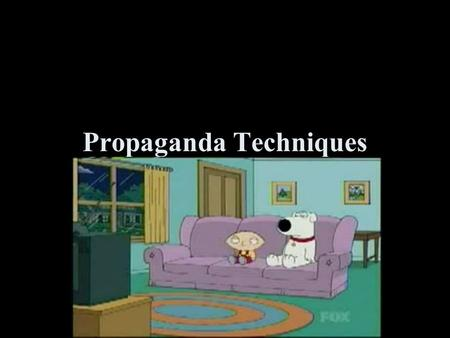 Propaganda Techniques. What is propaganda? A way of manipulating people using images and words to achieve a desired affect or outcome Propaganda clouds.