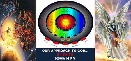 OUR APPROACH TO GOD… BY FAITH 02/09/14 PM. IMAGINATION CONSCIENCE MEMORY REASON AFFECTION IMAGINATION CONSCIENCE MEMORY REASON AFFECTION.