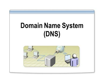 Domain Name System (DNS). DNS Server Service Overview of Domain Name System What Is a Domain Namespace? Standards for DNS Naming.