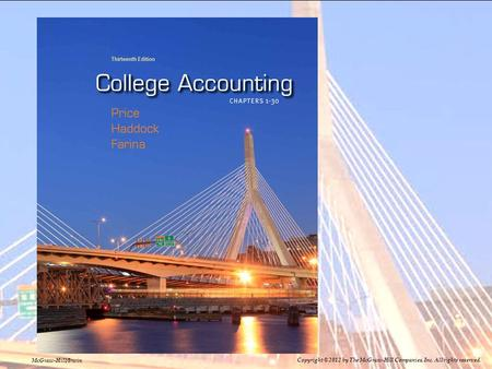 8–18–1 1-1 McGraw-Hill/Irwin Copyright © 2012 by The McGraw-Hill Companies, Inc. All rights reserved.