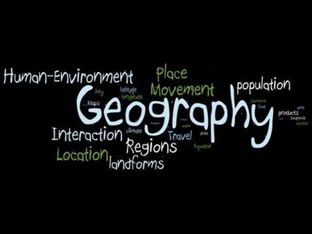 1.GEOGRAPHY – study of the Earth's natural environment and human society 2.ELEVATION – height of land above sea level 3.MONSOON- seasonal wind 4.PENINSULA.