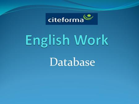 Database. Data Base A database is a collection of related data, and the software used in databases to store, organize and retrieve the data is called.
